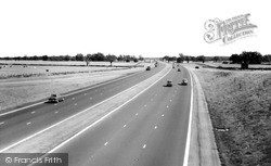 Newport Pagnell, M1 Motorway 1962