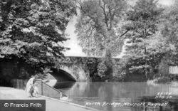 North Bridge c.1956, Newport Pagnell