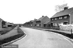 Newport Pagnell, Queens Avenue 1956