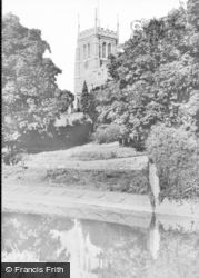 Newport Pagnell, The Church c.1960