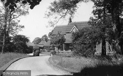 Newport Pagnell, The Green, Old People's Hostel 1950