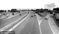 Newport Pagnell, The M1 c.1960