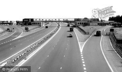 Newport Pagnell, The M1 Motorway 1962