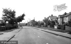 Newport Pagnell, Wolverton Road 1956