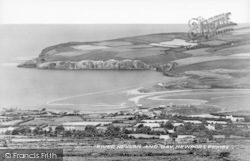 Newport, River Nevern And Bay c.1950