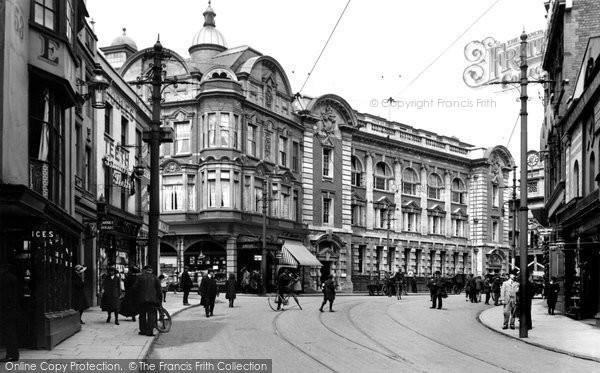 Photo of Newport, Savoy Buildings 1910, ref. 62512