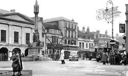 Newport, St James's Square c.1955