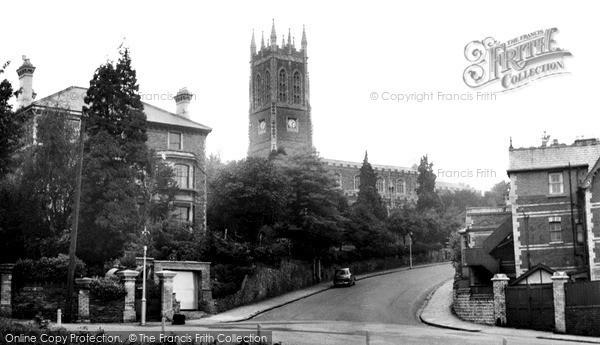 Photo of Newport, St Mark's Church c1955, ref. n25195
