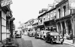St Mary's Street c.1955, Newport