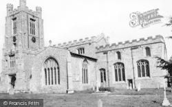 St Mary The Virgin Church c.1960, Newport