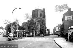 St Nicholas's Church c.1960, Newport