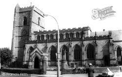 St Nicolas's Church c.1965, Newport