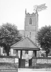St Stephen's Church And Lychgate c.1955, Newport