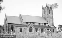 St Stephen's Church c.1955, Newport
