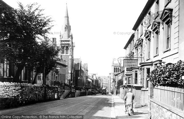 Photo of Newport, Stow Hill 1932, ref. n25114