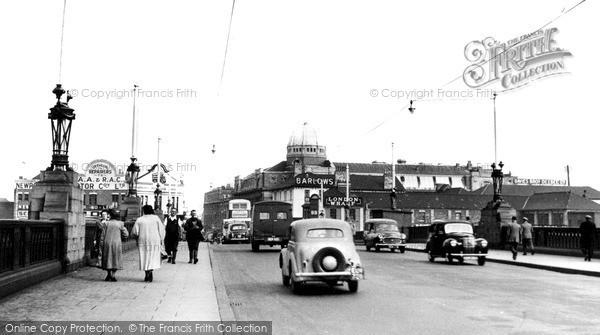 Photo of Newport, the Bridge c1955, ref. n25203