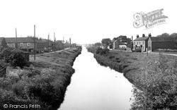 The Canal From The Bridge c.1955, Newport