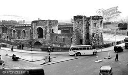 Newport, The Castle c.1955