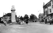 Newport, The Cenotaph c.1955