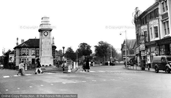 Photo of Newport, the Cenotaph c1955, ref. n25205