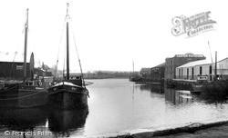 Newport, The River c.1955