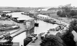 Newport, The River Medina c.1955