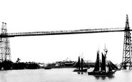Newport, The Transporter Bridge c.1906