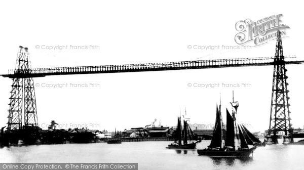 Photo of Newport, the Transporter Bridge c1906, ref. n25036