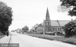 The Village, West c.1955, Newport