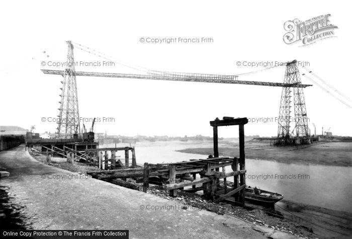 Photo of Newport, Transporter Bridge 1906, ref. 54935