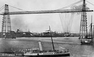 Newport, Transporter Bridge 1906