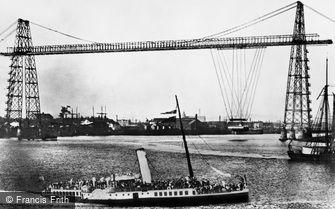 Newport, Transporter Bridge 1906