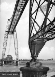 Newport, Transporter Bridge c.1955