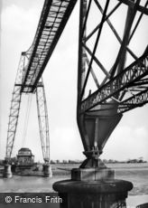 Newport, Transporter Bridge c1955