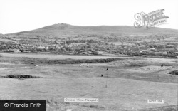 Newport, View From The Golf Links c.1960