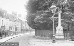 Newport, War Memorial, Castle Road 1913