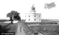 Newport, West Usk Lighthouse 1910