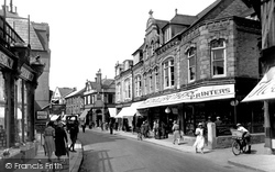 Newquay, Bank Street 1930