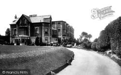 Newquay, Beachcroft Hotel 1930
