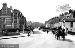 Newquay, Cliff Road 1918