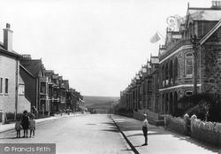 Newquay, Edgcumbe Avenue 1918