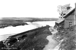 Newquay, Fern Pit And West Pentire 1904