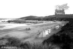 Newquay, Fistral Beach 1918