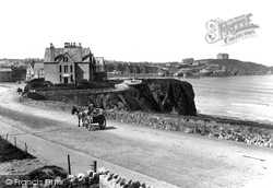 Newquay, From Narrowcliff 1899