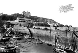 Newquay, Harbour, New Shelter 1907