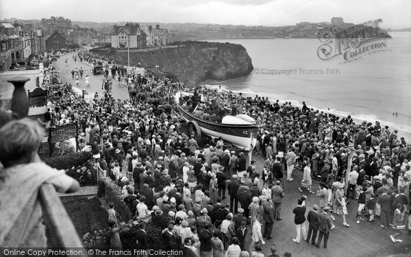 Newquay, Lifeboat Day 1928