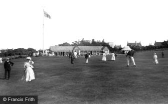 Newquay, Links Putting Match 1907