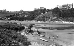 Newquay, River Gannel 1925