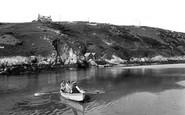 Newquay, River Gannel, Fern Pit Ferry 1928