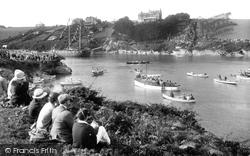 Newquay, River Gannel, The Gannel Regatta 1928